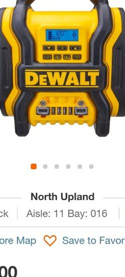 Dewalt Power Station And Compressor for Sale in Ontario,  CA