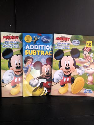 Mickey Mouse coloring books for Sale in Fort Lauderdale, FL