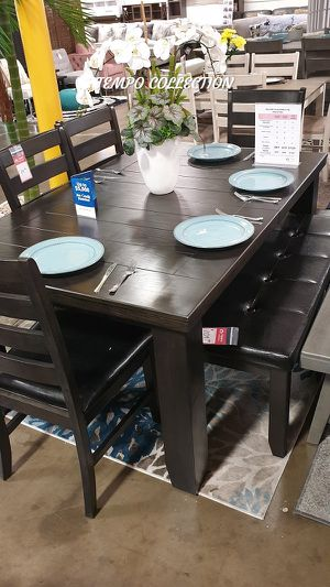 NEW, HOT SELLER, 6PC Dining Room SET, SKU# TC8810D for Sale in Fountain Valley, CA