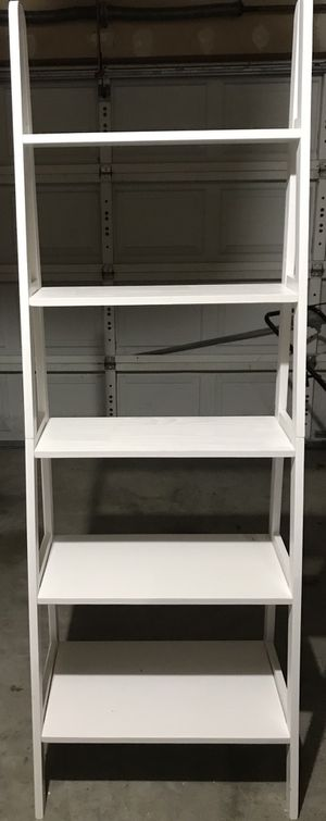 Freestanding ladder bookcase for Sale in Austin, TX