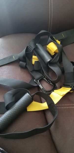 TRX Workout Rope and Back Belt for Sale in Port Richey, FL