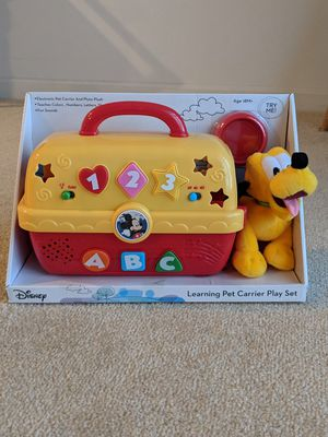 New Disney Learning Pet Carrier Play Set for Sale in Frederick, MD