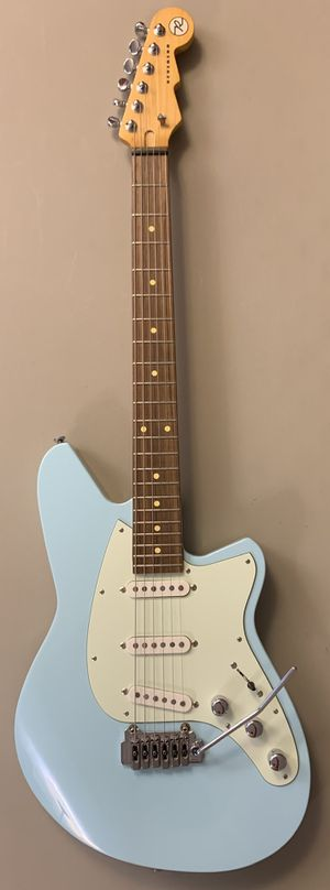 Reverend Six Gun III Chronic Blue SSS Strat style electric guitar for Sale in West Covina, CA