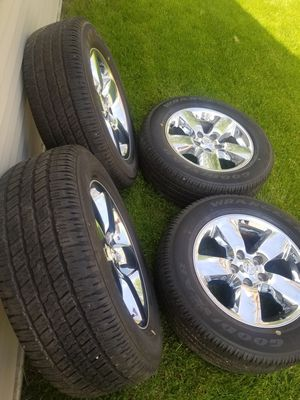 "20"" Dodge Ram Wheels & Goodyear Tires for Sale in IND HEAD PARK, IL"