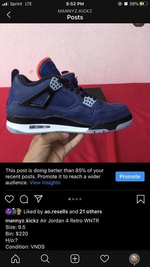 Jordan 4 retro for Sale in Pico Rivera, CA