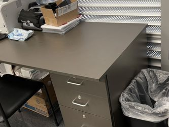 Work Desk, Greyish Brown for Sale in Compton,  CA