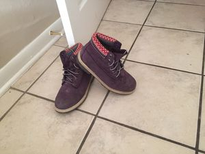 Purple Timberlands Size 5 for Sale in Houston, TX