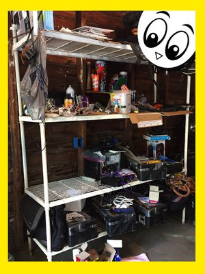 LARGE Utility Steel Storage Rack (White) $50 for Sale in Memphis, TN