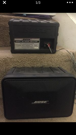 Bose speakers for Sale in Woodlake, CA
