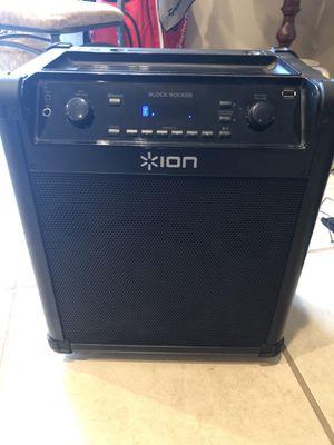 ION audio Block Rocker Bluetooth Speaker for Sale in Tullahoma, TN