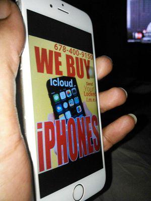 Bring locked iPhone 7+ 8 xs xr x for Sale in Atlanta, GA