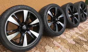 "*** L@@K *** !! 22"" WHEELS/ RIMS + NEW FALKEN TIRES paid $2200!! - Nice Black/ machine & Really Cheap !! *** for Sale in Miami, FL"