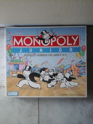 Monopoly Junior board game for Sale in OR, US