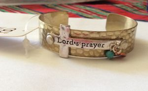 New with Tags The Lords Prayer Charm Cuff Bracelet for Sale in Parkville, MD