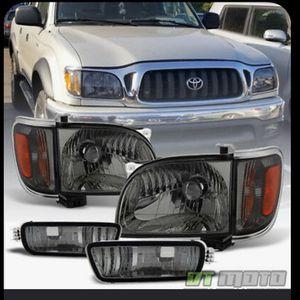 Toyota Tacoma 01-04 new Smoke Headlights for Sale in Hayward, CA