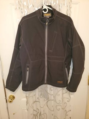 ARIAT REBAR CANVAS SOFTSHELL MEN'S WORK JACKET SIZE M for Sale in Houston, TX