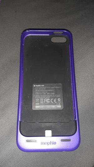 Apple charging case for iPhone 5 or 6 for Sale in Los Angeles, CA