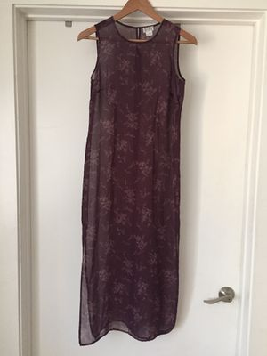 LOFT Full Length Floral Dress Size 2P for Sale in Los Angeles, CA