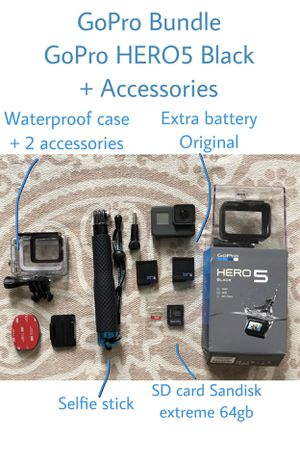 GoPro HERO5 Black looking for new owner! for Sale in Mill Valley, CA
