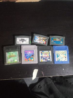 Assorted gameboy/ advance games for Sale in Las Vegas, NV