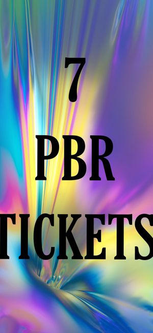7 PBR TICKETS for Sale in Skiatook, OK