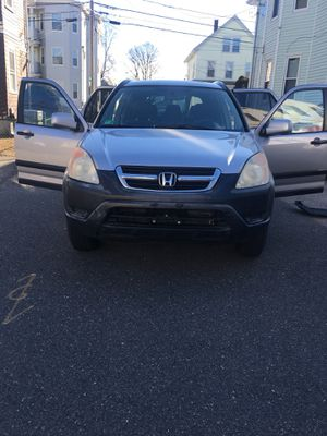2002 Honda CRV 177000 miles, excellent condition, good tires, the engine runs good. for Sale in Medford, MA