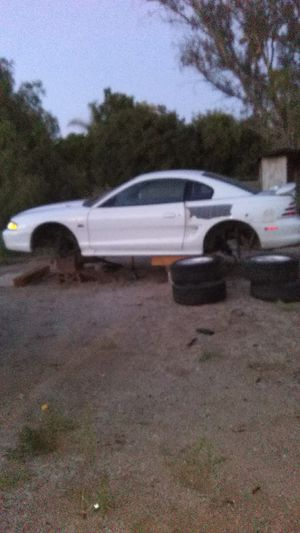 93 mustang GT 5.0 V-8. Parts car. Engines good. No transmission ,spindles,rear axle or catalytic converter. All original parts . for Sale in Riverside, CA