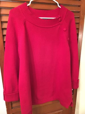 Red Sweater, ladies XL for Sale in French Creek, WV