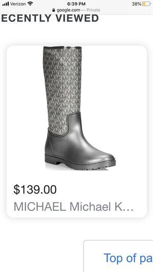 Michael kors Rain boots for Sale in Mesa, AZ