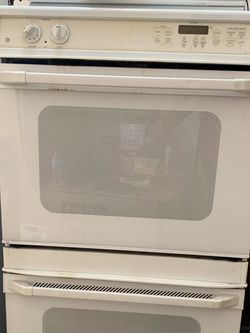 "GE 30"" Double Electric Oven - White for Sale in Southlake,  TX"