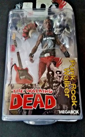 Walking Dead Megabox Punk Rock Walker Blue Variant Skybound RARE McFarlane Toys for Sale in Tempe, AZ