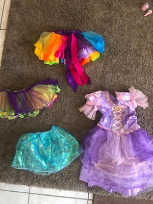 Tutus rapunzel dress up for Sale in San Jose, CA