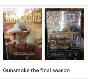 Gunsmoke dvd the final season for Sale in Tacoma, WA