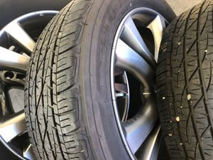Fire stone 20 inch tires with rims came off from2009 Murano brand new tire for Sale in Thomasville, NC