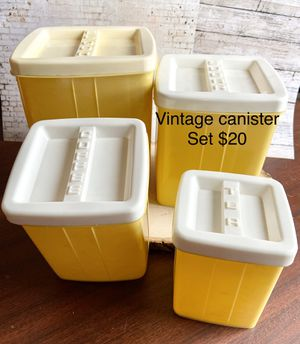 Vintage kitchen canister set for Sale in Waynesboro, PA
