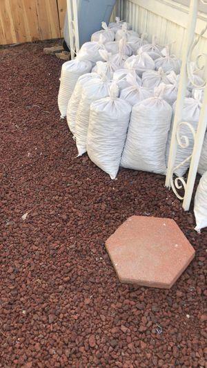 Red garden rocks for Sale in Covina, CA