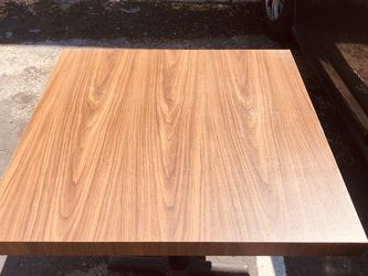 """30"""" x 30"""" sturdy wooden office table . I have 8 now! It is of very good quality and it can be used as a small square desk or a small dinner table for Sale in Buena Park,  CA"""