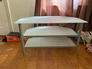 Glass TV stand with 2 glass shelves. for Sale in Washington, DC