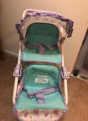 American girl baby double stroller for Sale in Littlerock, CA