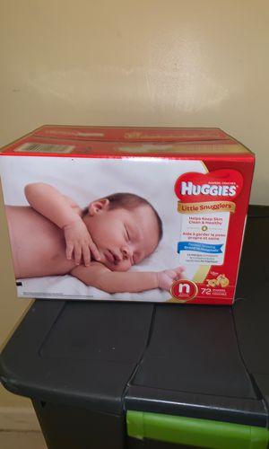 Huggies diapers NewBorn for Sale in West Palm Beach, FL