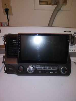 I have a 10 inch touch radio for a Honda civic 07 for sale with the cables what you see on the picture 300 or best offer everything works for Sale in Cuyahoga Falls, OH