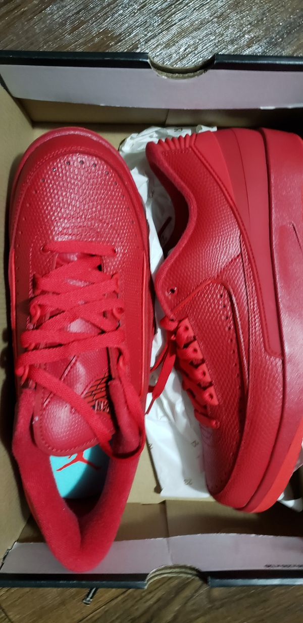 Jordan 2s all red size 9.5 ds