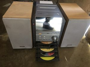 Panasonic cd stereo system mp3 for Sale in Porterville, CA