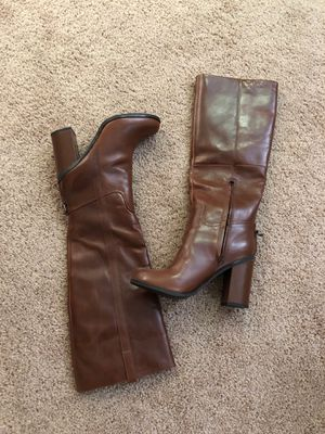 aldo leather boots new never used size 8 for Sale in Cherry Hill, NJ