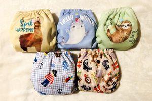UNUSED Newborn to Small Cloth Diaper - set of 5 for Sale in North Las Vegas, NV