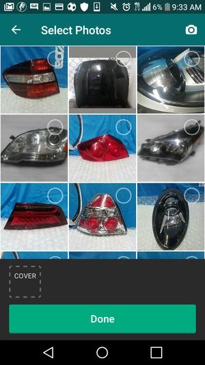 Headlight tail light toyota honda nissan for Sale in Los Angeles, CA