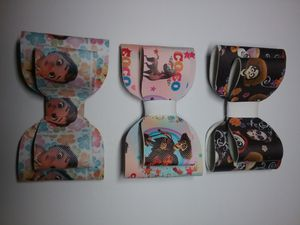 Coco and Moana faux leather bows for Sale in Fresno, CA