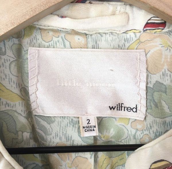 Aritzia Wilfred Quilted Jacket