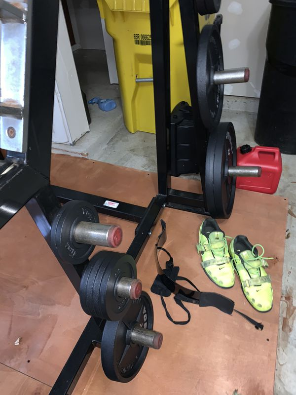 Bar and weights