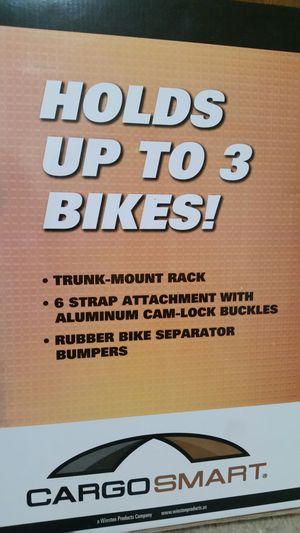 New! ! CARGOSMART 3- bike carrier for Sale in Bloomington, IL